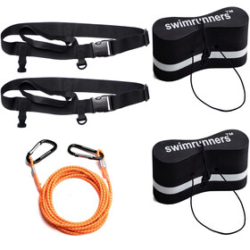 Swimrunners Support Pull Belt Team Kit, black